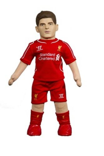 Official LIVERPOOL BuBuzz Plush Toy Doll S GERRARD 8 SG104 45cm