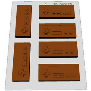 Video-Games-Controller-Classic-Nintendo-Chocolate-Mould