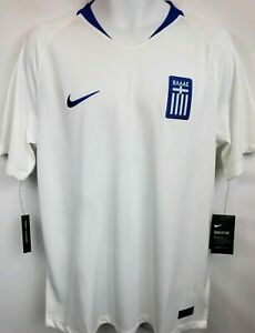 2018 Greece Stadium Home Men's Football Shirt