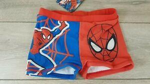 Officiel-Marvel-Garcons-Swim-Pantalon-spiderman-Swimwear-Shorts-Age-9-10-ans-A36123
