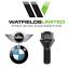 1x Genuine BMW//Mini Ruota Bullone M12x1.5 26mm corrolube Nero 60 Gradi Conica