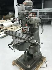 Bridgeport J Head Milling Machine 1hp 9 42 Table Fully Cleaned And Restored