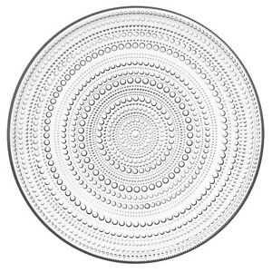 Iittala-Kastehelmi-Teller-klar-31-5-cm-Tortenplatte-NEU
