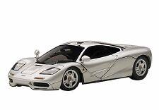 AutoArt McLaren F1 (Magnesium Silver/Metallic Silver) 56001