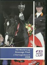 FEI WORLD CUP DRESSAGE FINAL s'HERTOGENBOSCH 2008 DVD