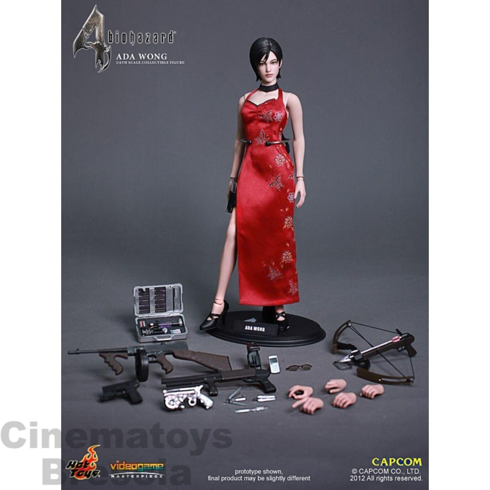 RESIDENT EVIL Ada Wong Sixth Scale Action Figure Figure Figure Hot Toys VideoGame Masterpiece 3ec8c3