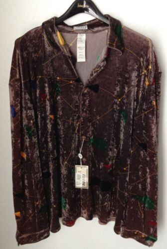 GIANNI VERSACE SHIRT SIZE 56 MADE IN ITALY ORG
