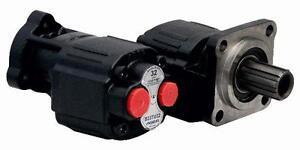 4 BOLT BI-ROTATIONAL HYDRAULIC GEAR PUMP 12cc - 150cc, FREE UK DELIVERY,