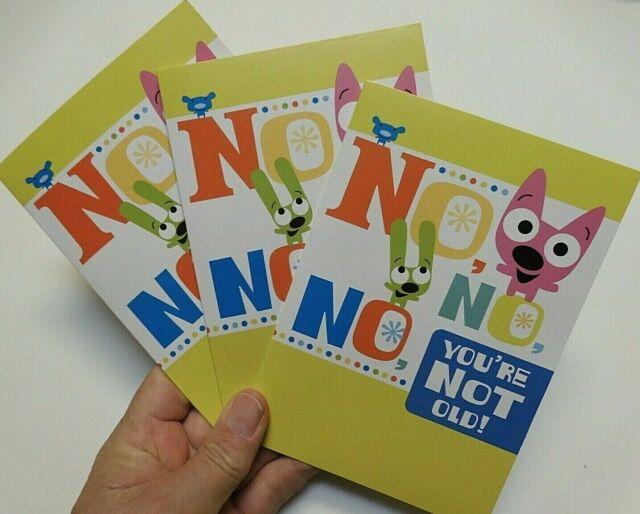 Hoops And Yoyo Birthday Cards