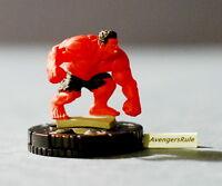 Marvel Heroclix Deadpool 033 Red Hulk Rare