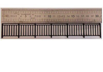 Rambarde 1//87  Train chemin de fer échelle Ho garde-corps pour pont