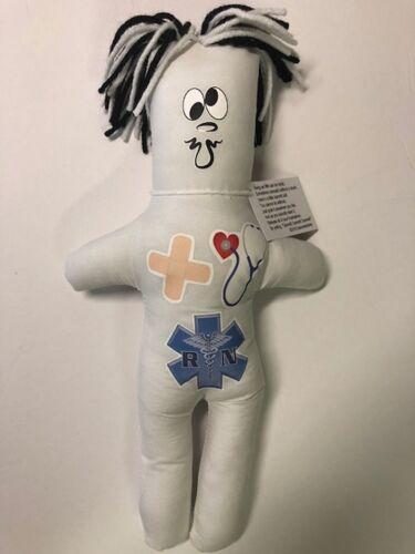 RN Nurse Frustration Doll Dammit Stress Relief Dolls Registered Nurse White
