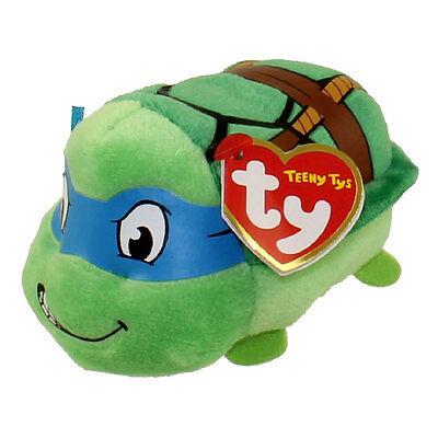 "Ty Beanie Boos 4/"" Teeny Tys Ninja Turtle MICHELANGELO New w// Heart Tags MWMT/'s"