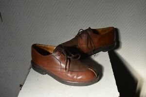 CHAUSSURE-HABILLE-KICKERS-CUIR-TAILLE-37-DERBIES
