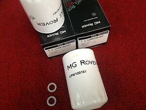 GENUINE-MG-ROVER-75-ZT-OIL-FILTER-X2-LPW100161-SUMP-WASHER-2-0-2-5-V6-PETROL