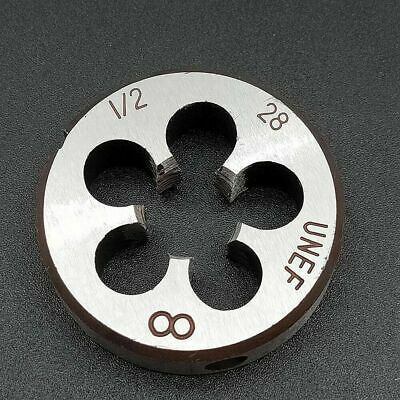 "1pcs HSS Right Hand Die 7//16/""-28UNEF Dies Threading 7//16-28UNEF"