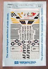 1/72 MicroScale Decals 72-0387 F-86's 12 FBSq/18FBWq 80 FBSq/8 FBWq et al Mint