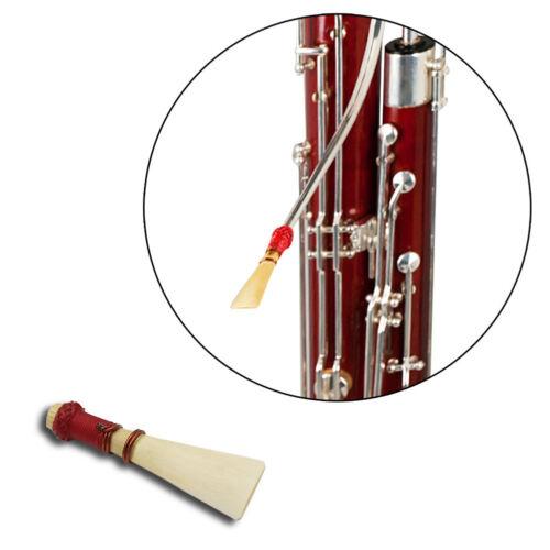 1 Stück mittelfester Fagott Reed mit Koffer Fagott Teile /&Zubehör SA