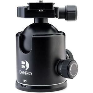 BENRO-B5-Tete-Rotule-a-friction-Plateau-PU85-Capacite-22kg-Prix-Destocke