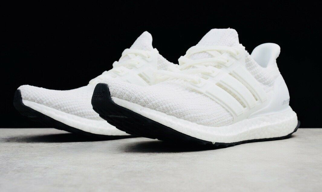 Adidas Ultra Boost 4.0  Triple White Men New shoes size 10.5