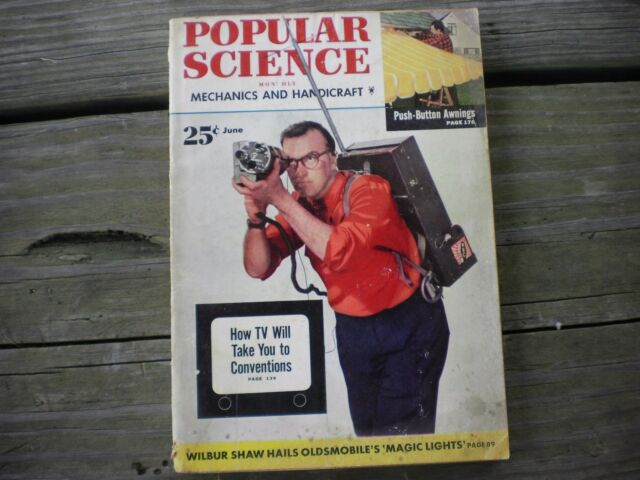 Vintage Popular Science Magazine June 1952 256 Pages
