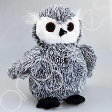 Cute Grey Owl Doorstop Door Stop Wedge Fabric Stopper Opener Plush Animal