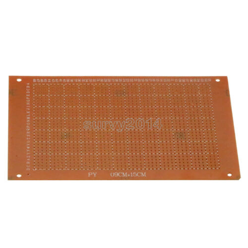 10Pcs DIY Prototype Paper PCB fr4 Universal Board prototyping pcb 9 x 15 cm