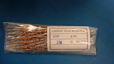 RES04 1,000 PCS 470 Ohm--2W--5/% Tolerance--Carbon Film Resistor