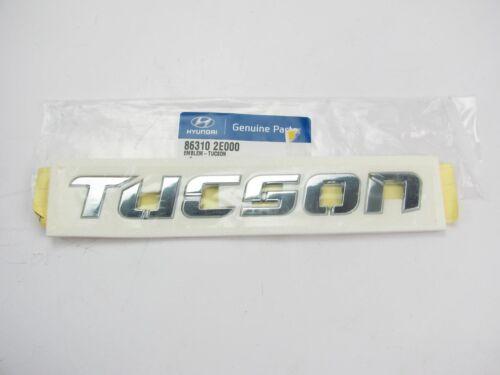 NEW GENUINE OEM Rear Trunk Tucson Emblem For 2005-09 Hyundai Tucson 863102E000