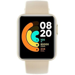 Xiaomi Mi Watch Lite Ivory Bluetooth Heart Rate Fitness GPS Tracker iOS Android