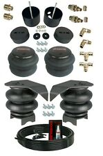 38 Front Rear Air Ride Suspension Bag Bracket Mount Kit For 1988 98 Chevy C15