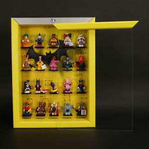 CAJA-PARA-FIGURAS-click-sistema-vitrina-Vuestro-LEGO-SERIE-BATMAN-71017-AMARILLO