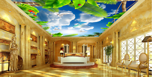 3D Animals 66 Ceiling WallPaper Murals Wall Print Decal Deco AJ WALLPAPER AJ