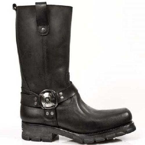 New Rock Stiefel Boots Biker Motorrad schwarz M.7610-S1