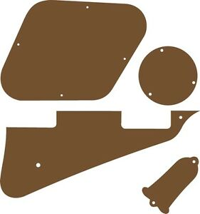 Kit Pickguard Scratchplate Cover Covers Gibson Les Paul Guitar Red Acrylic NEW