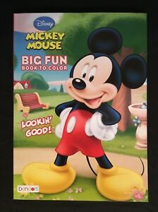 Image Is Loading Brand New Mickey Mouse Big Fun Book To