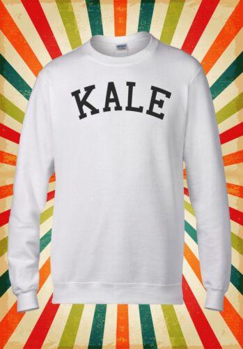 Kale Slogan Funny Novelty Cool Retro Men Women Unisex Top Hoodie Sweatshirt 1404