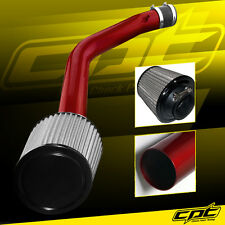 03-07 Honda Accord 3.0L V6 Red Cold Air Intake + Stainless Air Filter