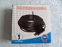 Usb 5.5mm 6led Pc Endoscope Borescope Inspection Camera Free Us Shipping