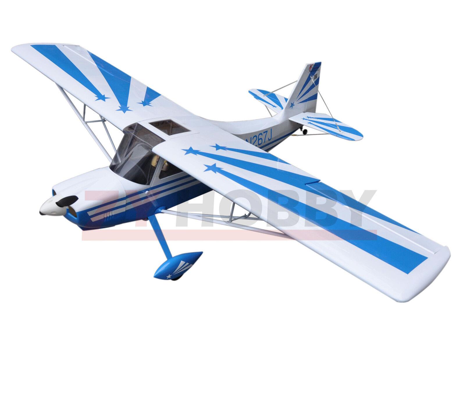 Super Decathlon 72  1828.8mm Nitro & Electric  RC Wooden Plane 3D Aircraft bianca  risparmia fino al 30-50% di sconto
