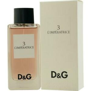 Dolce-amp-Gabbana-3-L-039-Imperatrice-100ml-EDT-SP-Perfume-for-Women
