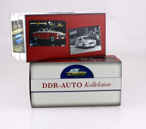 Wartburg 353 Transporter hellgrün 1:43 Atlas Modellauto 020
