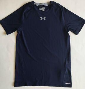 NEW-Boys-Youth-Under-Armour-HeatGear-UPF30-Short-Sleeve-Fitted-Shirt-1253815-XL