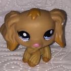 Littlest Pet Shop CHIEN EPAGNEUL MARRON CLAIR 1716 DOG ref9