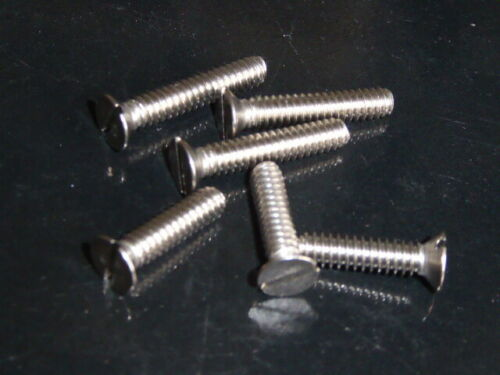 3//16 BSW Stainless Steel A2 Countersunk Screw