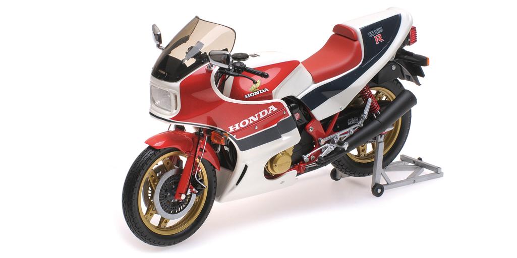 Minichamps 122 161701 Honda CB1100R 1982 Blanc Turquoise échelle 1 12