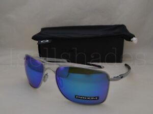 Oakley-GAUGE-8-OO4124-10-62-Matte-Lead-with-Prizm-Sapphire-Lens