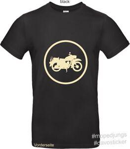 T-Shirt-MZ-ES-150-Mopedjungs-Simson-Oldtimer-Trabant-Wartburg-Moped-Eisenschwein