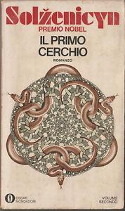 LIBRO-Solzenicyn-il-Primo-Cerchio-SECONDO-VOLUME-1974-COPERTINA-FLESSIBILE