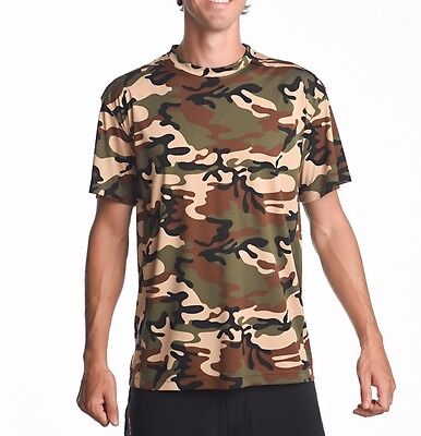 Denali Performance WiKZ Men/'s Short Sleeve ProtectUV® Athletic Kenai Kamo